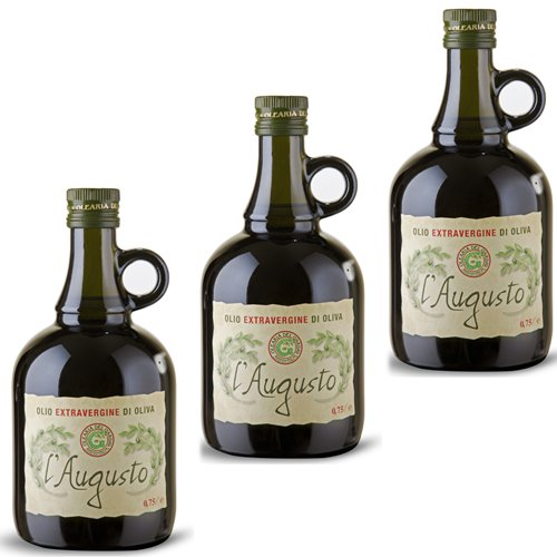 3x Olearia Del Garda Olivenöl Extra Vergine 'L´Augusto', 750 ml