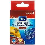 Figo Knie- und Ellenbogenpflaster, 2er Pack (2 x 3 Stück)