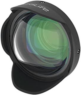 SeaLife SL050 0.5X Wide Angle Dome Lens with 52mm DC Adapter Ring for DC2000 & DC1400 Digital Cameras