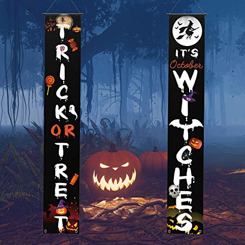 Amazon - Outdoor Trick or Treat Banners $3.99