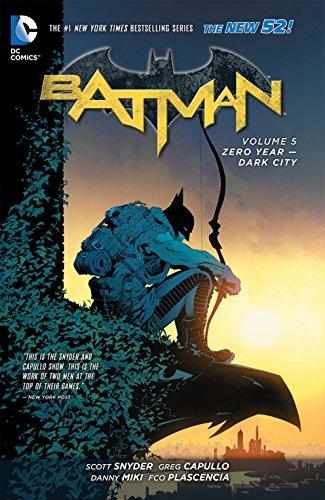 Batman Volume 5: Zero Year - Dark City HC (The New 52)