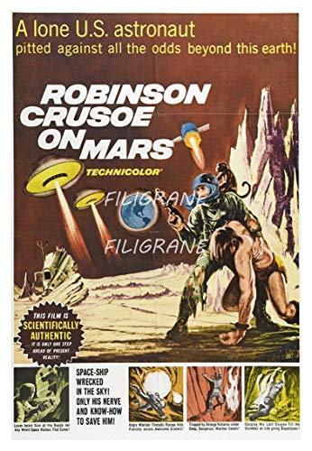 PostersAndCo TM Robinson CRUSOé on Mars Rvku-Póster de Reproducción 40 x 60 cm D1