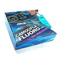 サンヨーナイロン フロロカーボンライン アプロード GT-R カモフラ フロロ 150m 16lb グレイッシュブルー