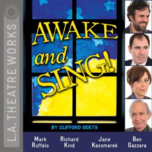 Awake and Sing! audiobook cover art