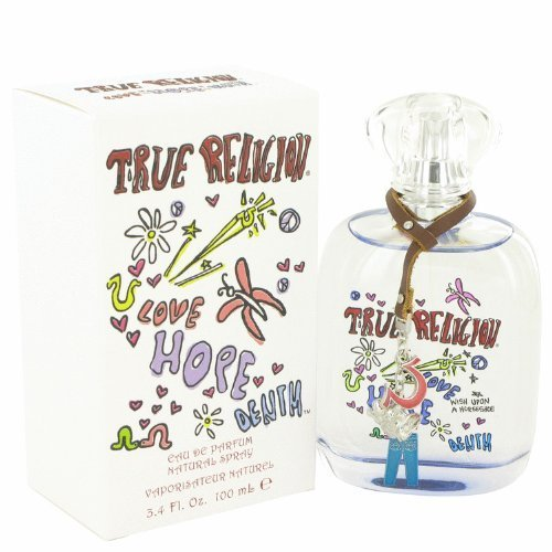 NIB True Religion Love Hope Denim Perfume EDP Spray FOR WOMEN - 3.4 oz by True Religion