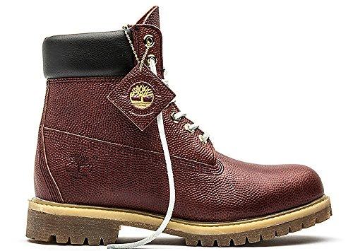 Timberland Grade-School 6 Inch Premium Waterproof Boot Brown Textured Sneakers 7