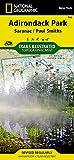 Saranac, Paul Smiths: Adirondack Park (National Geographic Trails Illustrated Map, 746)
