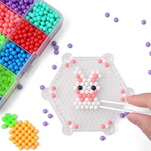AJH Blokken 3600 stks DIY Plastic Perler Stick Water Zekering Kralen Puzzel Speelgoed Grappig Voor Kid Ambachten Gift Foto Kleur Bouwstenen Set