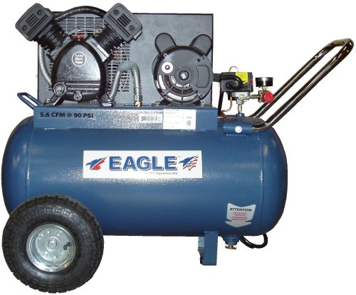 Eagle P3120H1-CC 20-Gallon 125 PSI Max PSI Electric Compressor