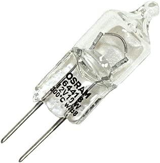 Osram 64418 - 12V 10W G4 64418 Bi Pin Base Single Ended Halogen Light Bulb