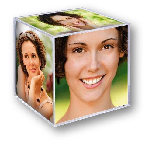 Zep klein Foto Würfel Acryl für 6Fotos