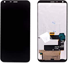 Group Vertical Replacement Complete LCD Digitizer Assembly Compatible with LG Q6 M700, US700 (5.5