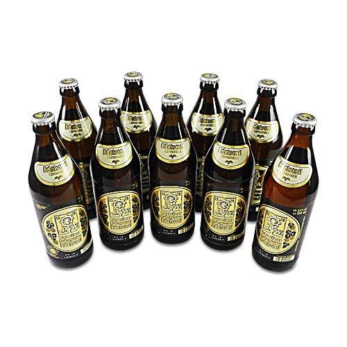 Augustinerbräu - Edelstoff Exportbier (9 Flaschen à 0,5 l / 5,6% vol.)