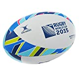 IRB 2015 Ballon de Rugby Gilbert - Coupe du Monde de Rugby Collection Officielle