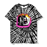 Camiseta de Manga Corta Camisa 3D Nuevas Camisetas Divertidas De Moda para Fans, Ropa Informal De Hip-Hop para Hombres, Ropa Hippie para Hombres, XXXL Ast200106