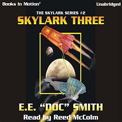 Skylark Three audiobook cover art