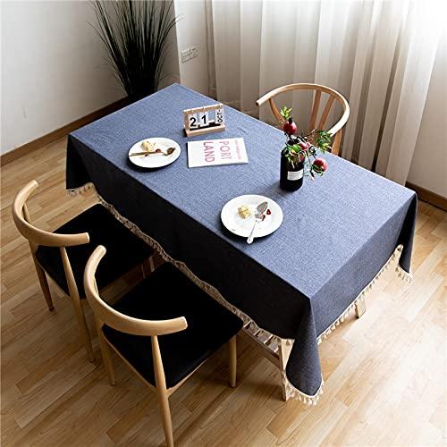 XXDD Mantel de Mesa de Comedor Paños de Escritorio Cubierta de Escritorio Rectangular para decoración de Mesa Manteles Mesa Rectangular A1 150x210cm