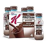 Special K Protein Shakes, Rich Chocolate, Gluten Free, 10 fl oz Bottles (4 Count)
