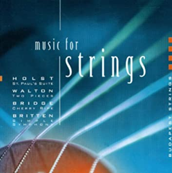 Holst, G.: St. Paul's Suite / A Fugal Concerto / Britten, B.: Simple Symphony / Walton, W.: 2 Pieces for Strings
