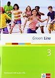 Green Line 3. Workbook mit Audio-CDs. 7. Klasse - Marion Horner