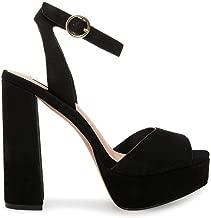 Best black high heel platform sandals Reviews