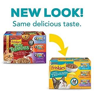 Purina Friskies Tasty Treasures Adult Wet Cat Food Variety Pack