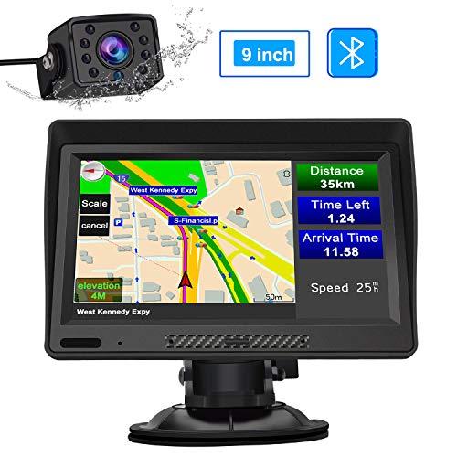 Bluetooth Truck Navi mit Rerverse Kamera 9