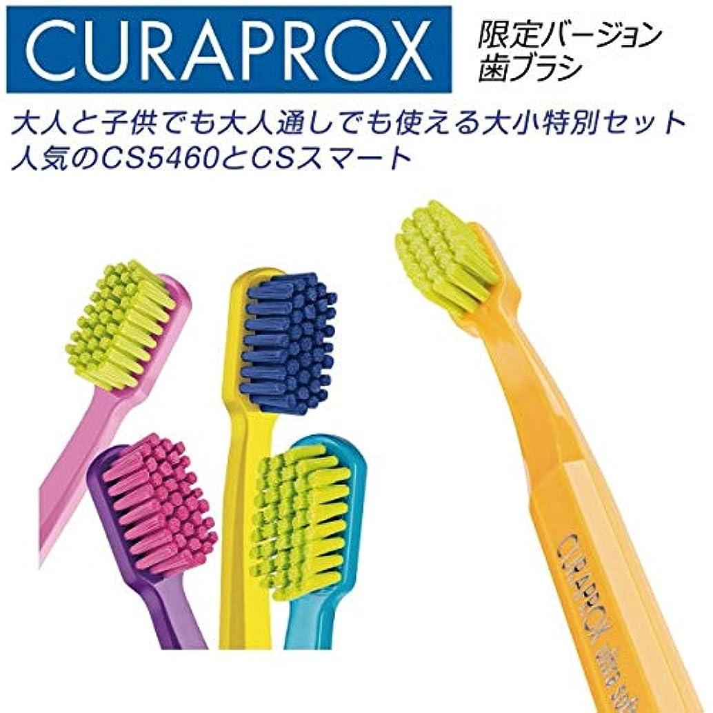 排泄する品揃えテクニカルクラプロックス 歯ブラシ CS5460 ファミリーエディション黄緑+ピンク