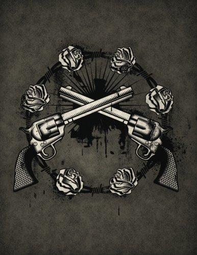 Guns\'n\'Roses Sketchbook: Blank Art Pad Notebook Journal (Tattoo You 150 Sketch, Band 40)