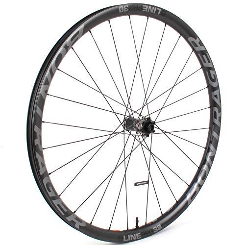 """Bontrager Line Pro 30 Front MTB Carbon Wheel 29"""" Boost 110mm Tubeless TLR Disc"""