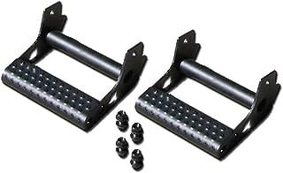 N-FAB JPTS32 Textured Black RKR Rails; Detachable Step RKR/RockRailDetachableStep-Pair