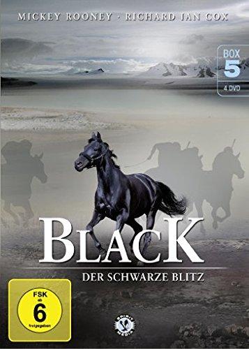 Black - Der schwarze Blitz - Box 5 [4 DVDs]