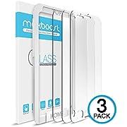 Maxboost iPhone 6Displayschutzfolie, [3Pack] iPhone 6Hartglas Displayschutzfolie 0,2mm Ballistic Glas für Apple iPhone 611,9cm nur und Arbeit mit den meisten Schutzhülle