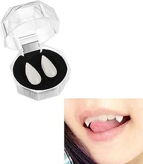 Vampire Fangs Fake Teeth Dentures Halloween Zombie Ghost Devil Horror Party Costumes Accessories 15MM