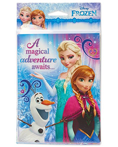 American Greetings Frozen Invite and Thank You Combo Pack, 8-Count, Invite/Thank You Combo