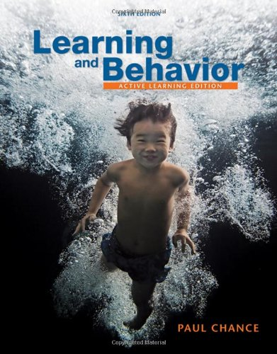 Learning and Behavior: Active Learning Edition (PSY 361 Learning)