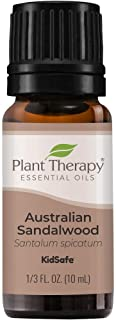 Plant Therapy Sandalwood Australian Essential Oil 100% Pure, Undiluted, Natural Aromatherapy, Therapeutic Grade 10 mL (1/3...