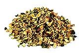 Bio Zucchini Stückchen getrocknet 1kg Fairtrade Zukini Gemüse, Rohkost, für Smoothies, Suppe, Salat und als Snack, aromatisch süßlich, gelblich/grünlich/bräunlich 1000g