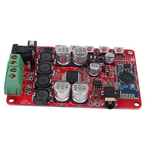 Amplificador de potencia Receptor de audio inalámbrico Módulo de placa de audio para conexión Entrada estéreo