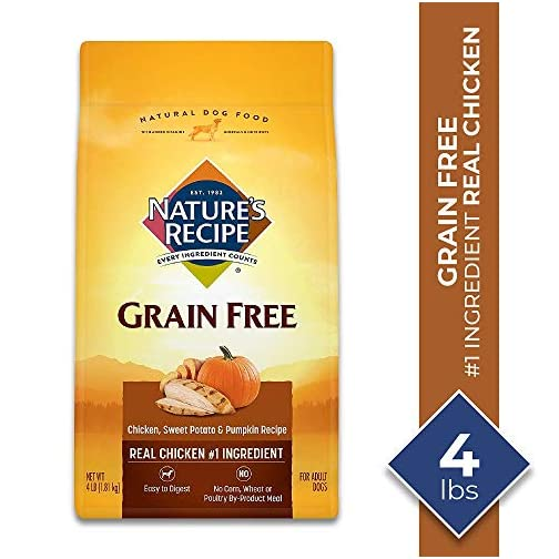 Nature's Recipe Grain Free Easy to Digest Dry Dog Food 3