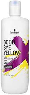 Goodbye Yellow by Schwarzkopf Shampoo 1000ml