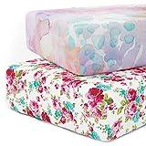 Kids N' Such Crib Jersey Knit Cotton Crib Sheet Set Product Image