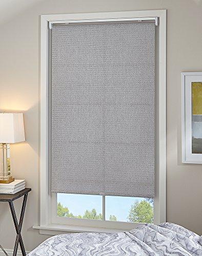 Curtainworks Twilight Fenster-Sonnenschirm, 58,4 x 162,6 cm, Grau