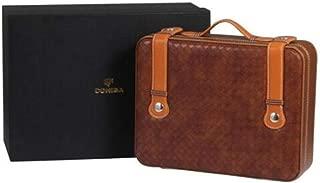 LBLMSB Cigar Box, Portable Cigar Humidor, Cedar Wood Cigar Box, Portable Cigar Box, Brown, Black Latest Styles (Color : Black)