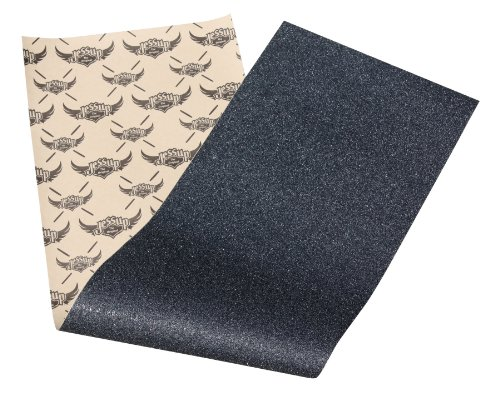 Jessup Skateboard Griptape Sheet: The Choice of pro Skaters Worldwide. Bubble Free & Easy to Apply. (9-Inch x 33-Inch, Black)