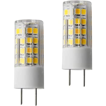 5 Pack LED 2700k EA-G9-5.0W-001-279F-D Dimmable Bi-Pin Base JA8 Emery Allen