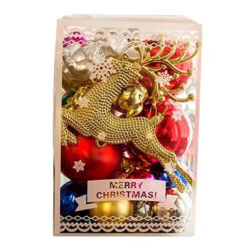 Bola De Navidad Bolas De Navidad Bolas De Navidad Decoración Bolas De Navidad Decoración 30PcsBola De Navidad Dorada Decoración De Navidad Colgante Colgante De Árbol DeNavidad Fiesta De Navida