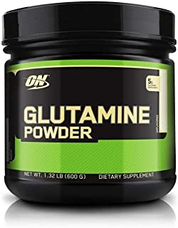 Optimum Nutrition L-Glutamine Muscle Recovery Powder, 600 Gram