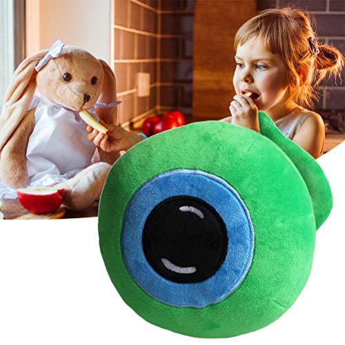 Juguete de peluche de ojos verdes de 22 cm creativo Jacksepticeye Sam Eyeball muñeca para niños
