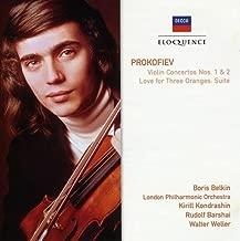 Prokofiev: Violin Concertos Nos. 1 & 2 / Love for Three Oranges: Suite